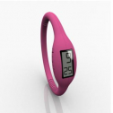 Montres : Montre digitale Unisex Silicone - Rose